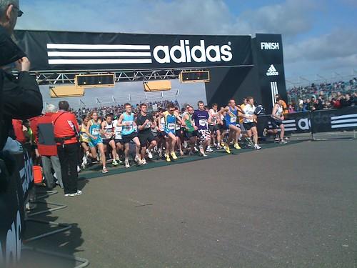 adidas Silverstone Half Marathon runners