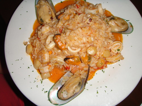 Time Cafe - Risotto with Mixed Seafood