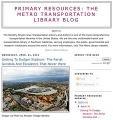 Primary Resources: The Metro Transportation Library Blog