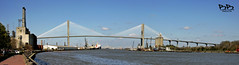 Bridge in Savannah (Panorama)