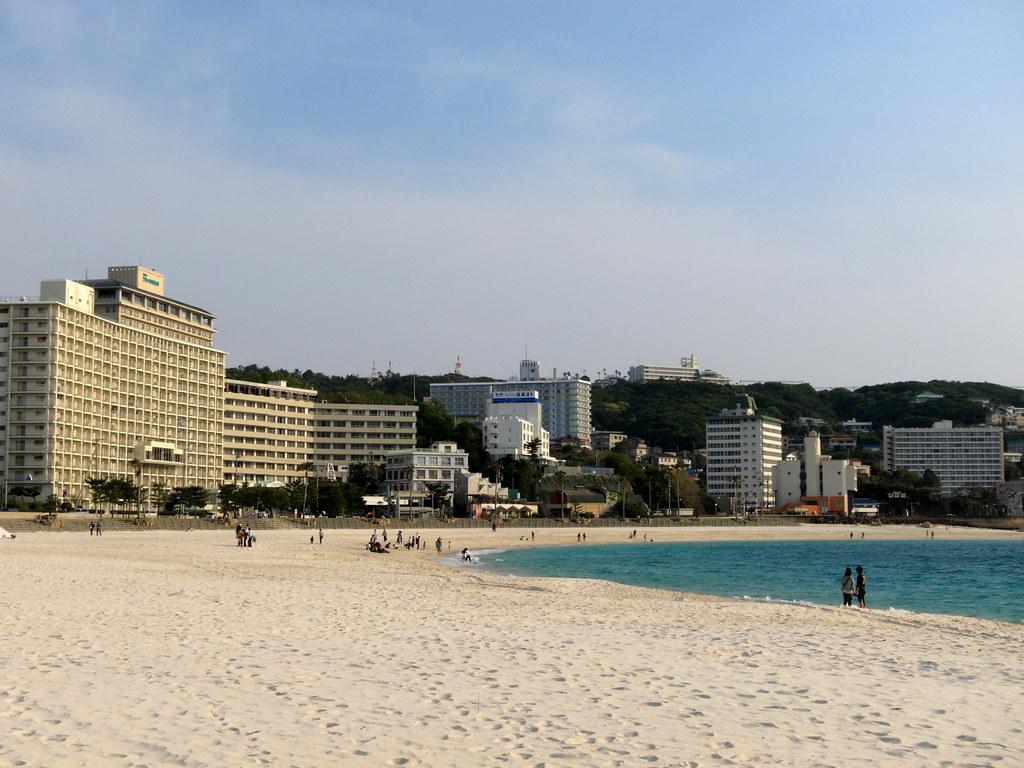 White sands of Shirahama