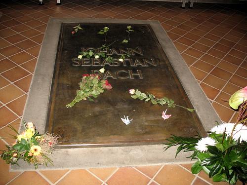 Thomaskirche la tomba di Bach
