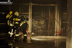 Tiefgaragenbrand Kostheim 29.05.10