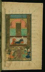 Illuminated Manuscript Collected works (Kulliy...