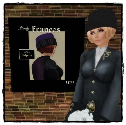Hatpins - Lady Frances