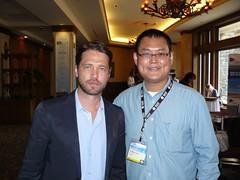 Jason Priestley & me