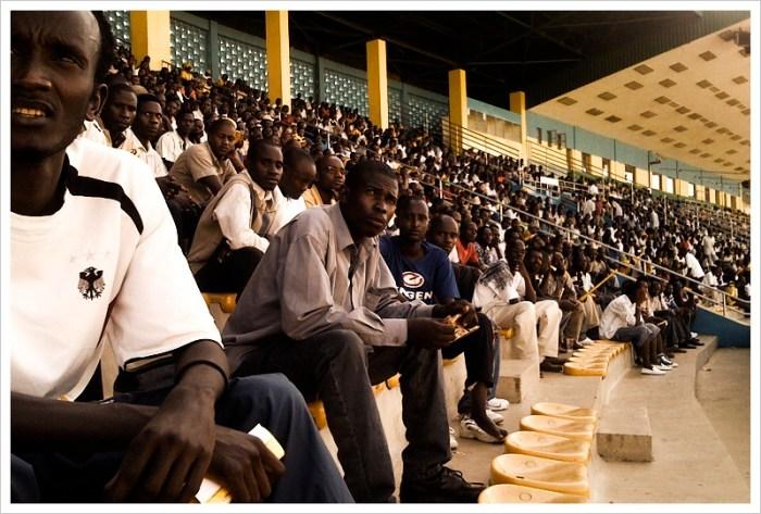 Watching the World Cup at Amahoro Stadium