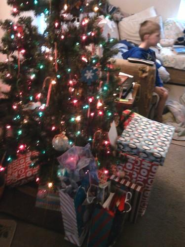 Christmas threw up