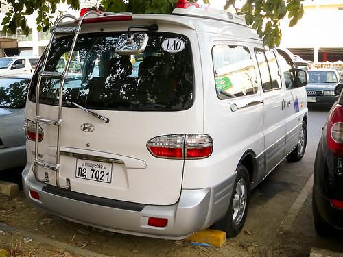 Lao Hyundai Starex Minivan in Bangkok