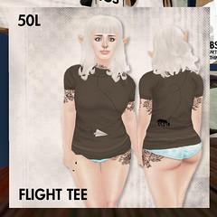 This is a Fawn - 50L Flight Tee - Mocha