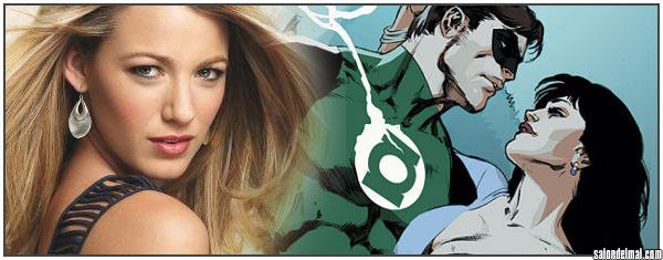 Blake Lively y una comparacion con su personaje en 'Green Lantern'
