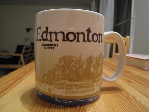 Edmonton Starbucks Mug