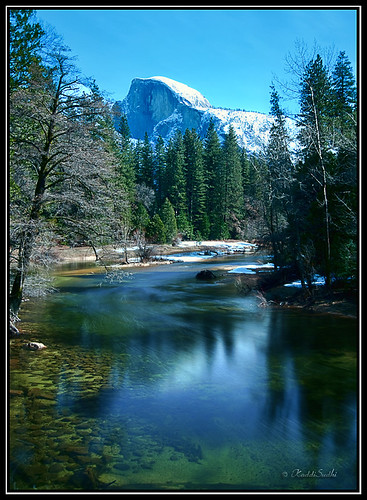 Half Dome from Sentinal Bridge