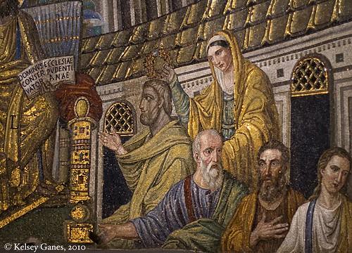 Basilica di Santa Pudenziana, mosaics