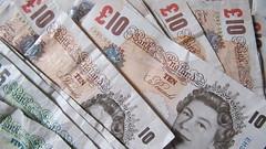 Banknotes, money, cash