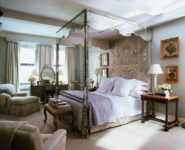 Bunny's bedroom in her NY City apartment (Photo: Pieter Estersohn)
