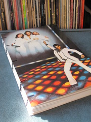 Saturday Night Fever Record Sleeve Coptic Journal