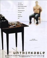 Unthinkable cartel película