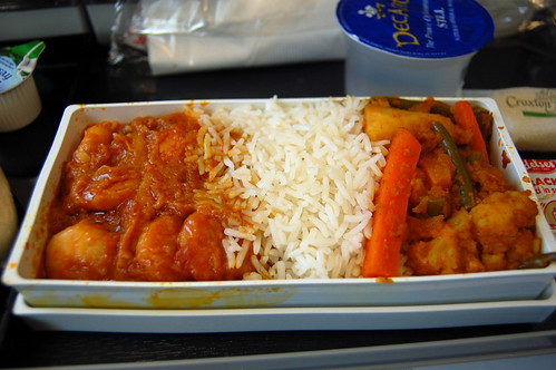Prawns in Indian Curry