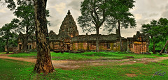 HDR Panorama from Phanom Rung Historical Park ...
