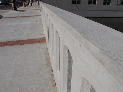 Sidewalk Along the Bridge