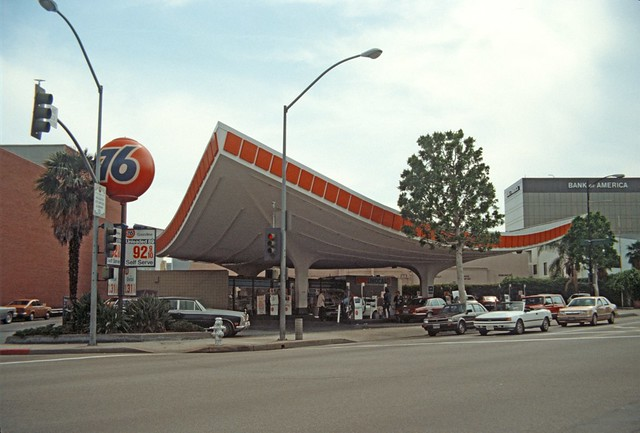 Union 76 Gas Station, Beverly Hills