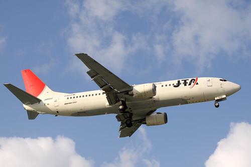 JTA B737-400(JA8932)