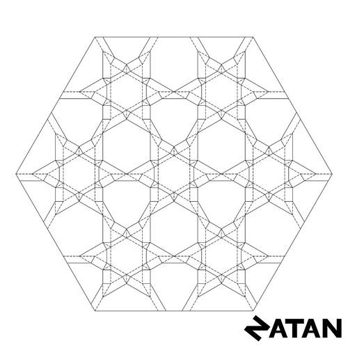 Six Points Star Tessellation