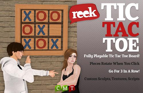 Reek - TicTacToe Ad