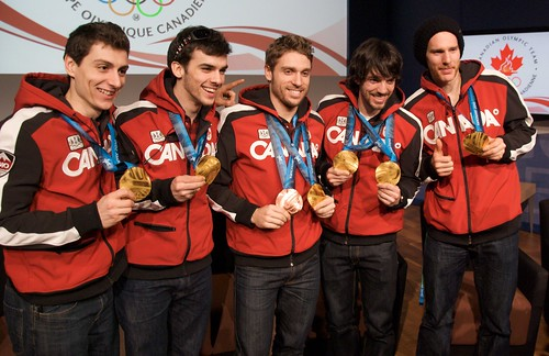 Canadian Men's Speed Skating Team