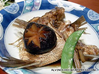 Rachel's grilled fish