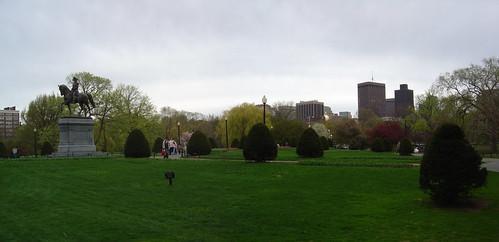Public Garden in spring