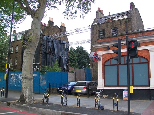A missing house in Kennington, London