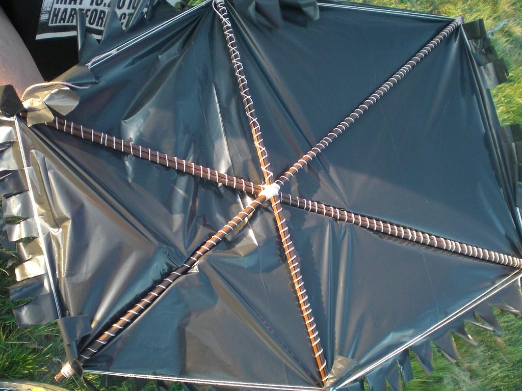 Home made kite, East Hartford