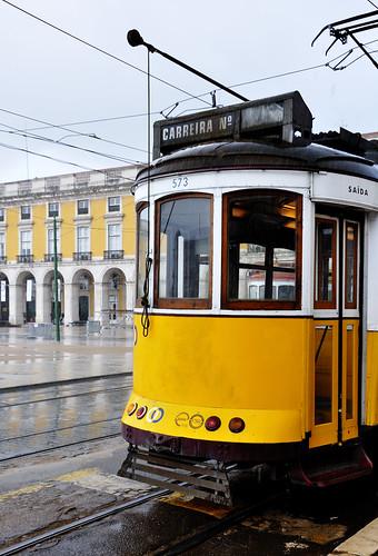 Lisbon T-rain