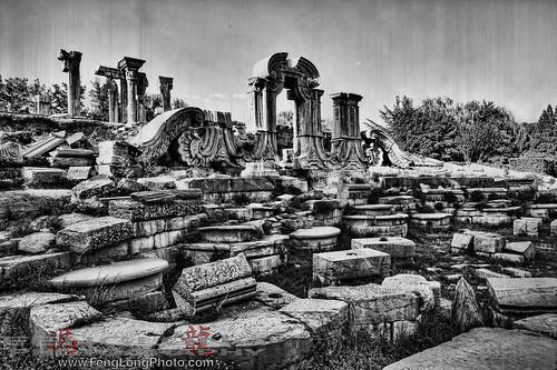 The Ruins of Winter Palace HDR, Yuan Ming Yuan 圆明园, Beijing, China