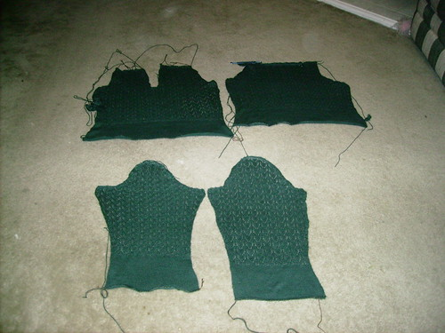 Sweater Pieces
