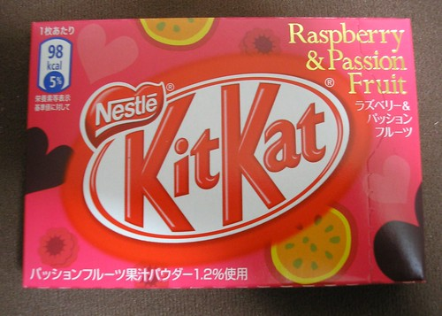 Valentine's Kit Kat: Raspberry & Passion Fruit (Pink Version)