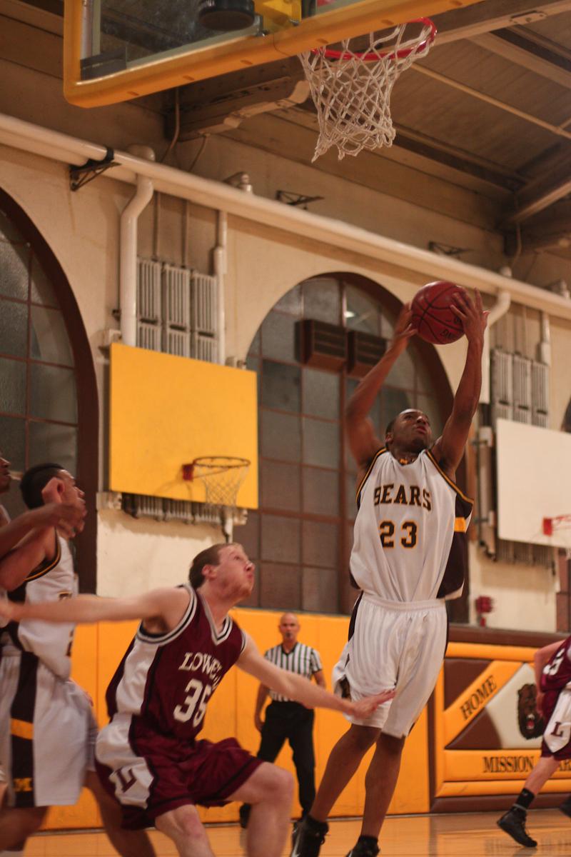 Vars Basketball Against Mission-8