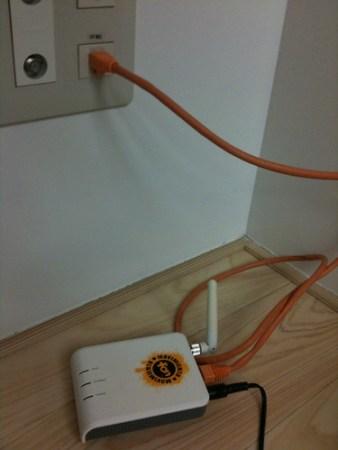 福井駅東口すぐのイベント会場、アオッサはネットワークもバッチリでした。スゴイ充実設備の和室ですw #spbfukui