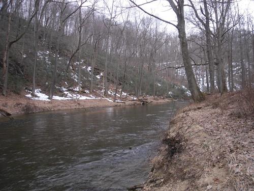 Gunpowder River in March