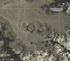 Sacred Circle, as seen in Googlemap