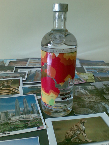 Absolut flavor of the Tropics