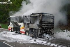 Busbrand A3 Niedernhausen 02.05.10