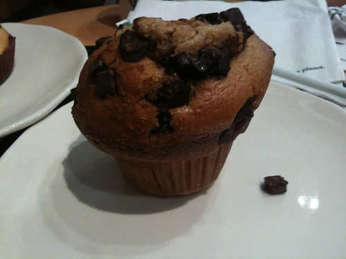 Chocolate Muffin en Starbucks Diagonal