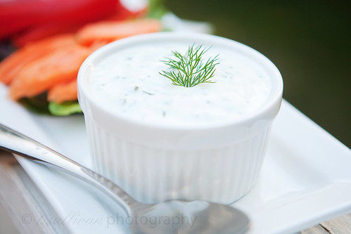 Homemade Low-Fat Ranch Dressing / Dip