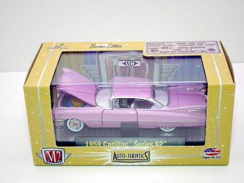 m2 1959 pink cadillac series 62