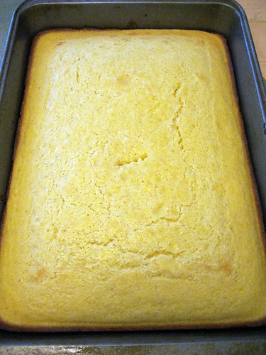 Baked Pan of Cornbread...