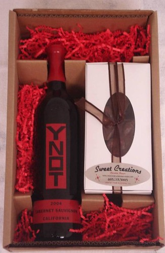 YNOT Cab Sauvignon and Chocolate Gift Pack