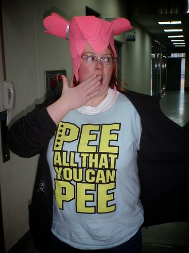 Pee all that you can Pee